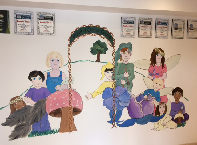 Wall Mural at Burlington Day care