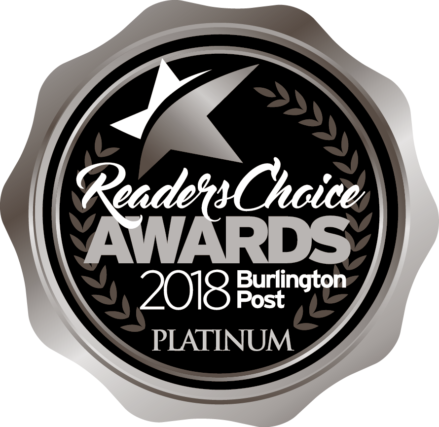 Readers Choice Burlington awards 2018