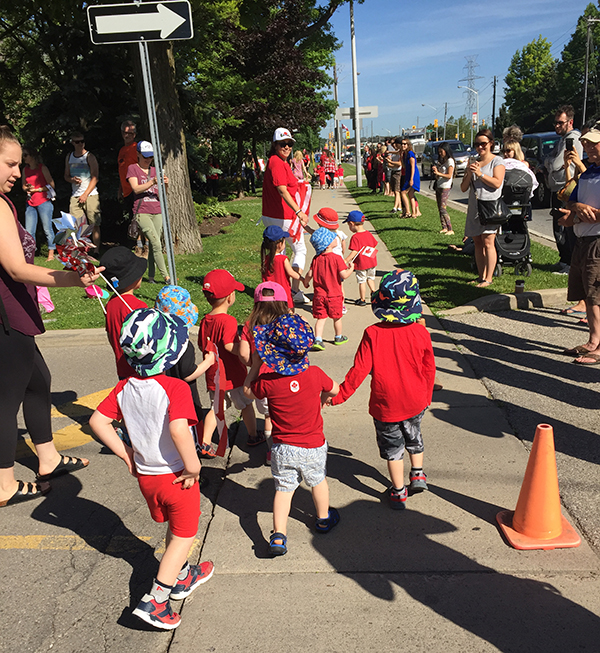 Day Care Canada Day Parade