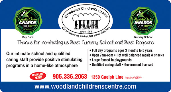 2019 Readers Choice Nursery School Burlington