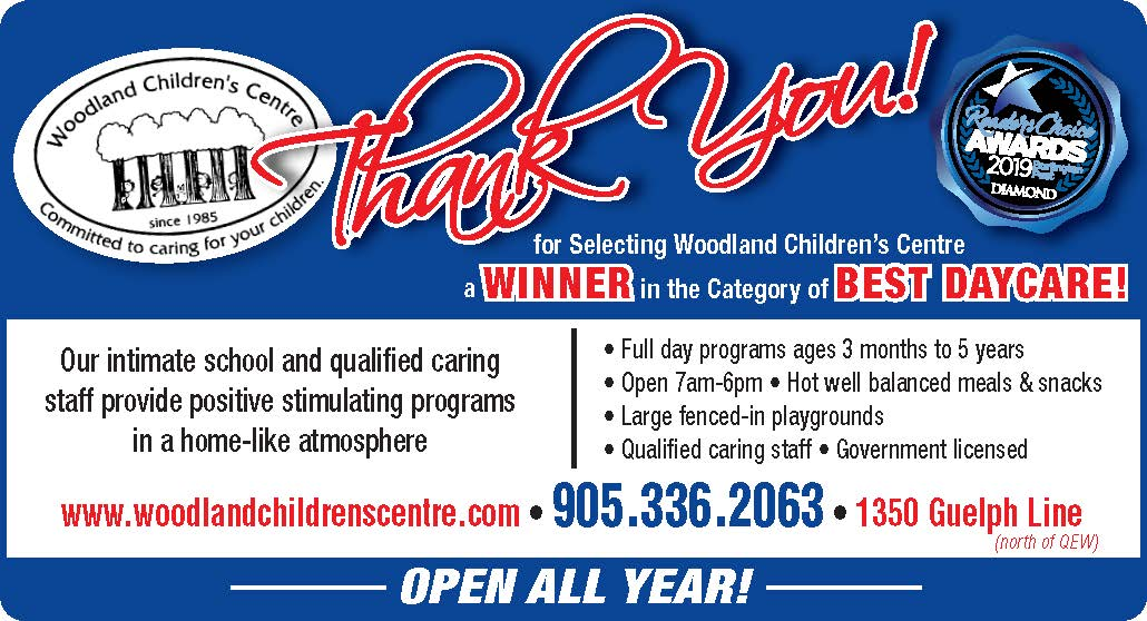 Voted Best Burlington Day Care