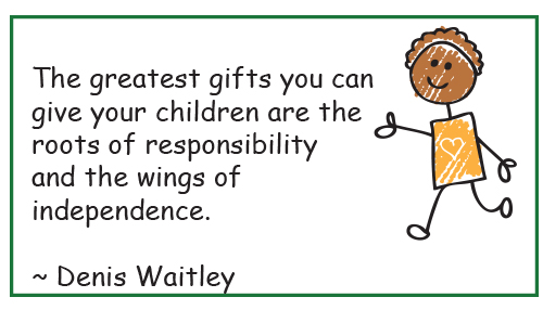 responsibility and independence - child care Burlington